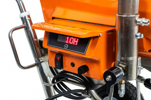 ASpro -7200 безвоздушный поршневой электрический окрасочный аппарат для высоковязких материалов