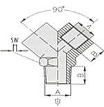 Переходники 1261/1 240/1 тройник Y-FFF 1/8, 1261/2 240/2 тройник Y-FFF 1/4, 1261/3 240/3 тройник Y-FFF 3/8, 1261/4 240/4 тройник Y-FFF 1/2 GAV