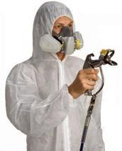 Защитный комбинезон для окрасочных работ