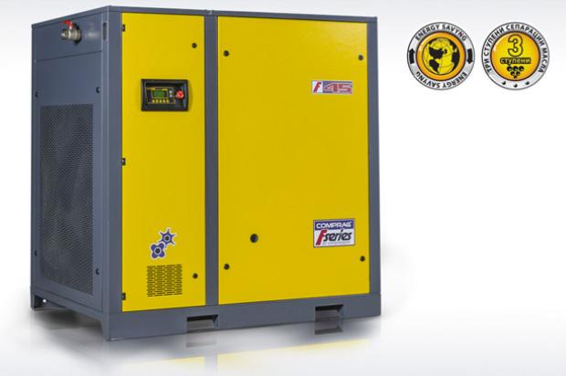 Винтовые маслонаполненные компрессоры Comprag серии F30-F90
