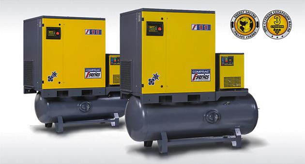 Винтовые маслонаполненные компрессоры Comprag серии F-FR-FRD