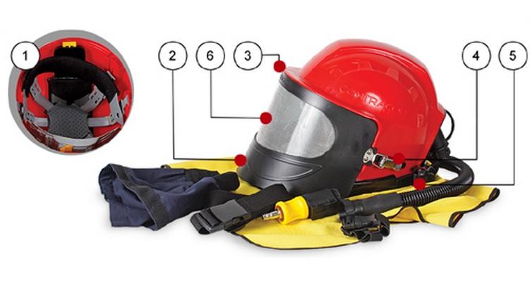 Пескоструйный шлем Aspect от Contracor