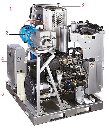 Электрическая готовая к эксплуатации система дозирования Reactor 2 E-30i Graco
