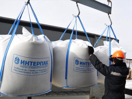 Мягкие контейнеры МК Интерпак для всех видов сыпучих грузов предлагает компания Анкор Омск.