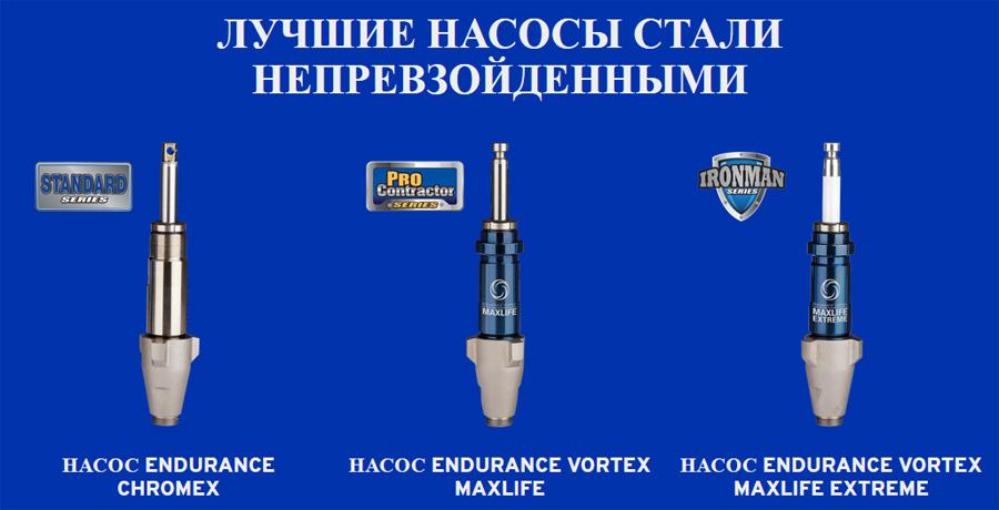 Graco представляет обновленную линейку поршневых насосов серии Endurance