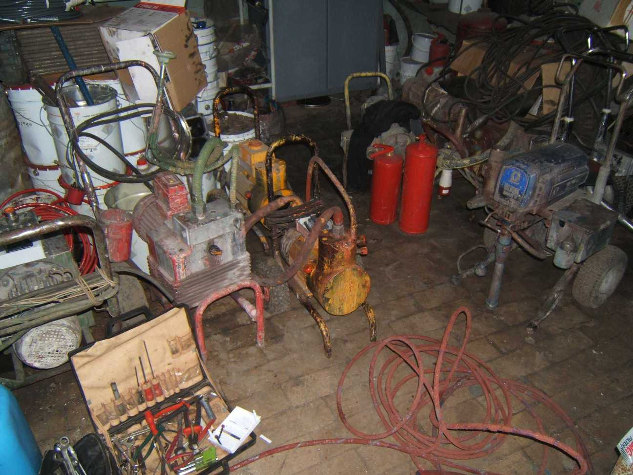 ремонт окрасочного оборудования