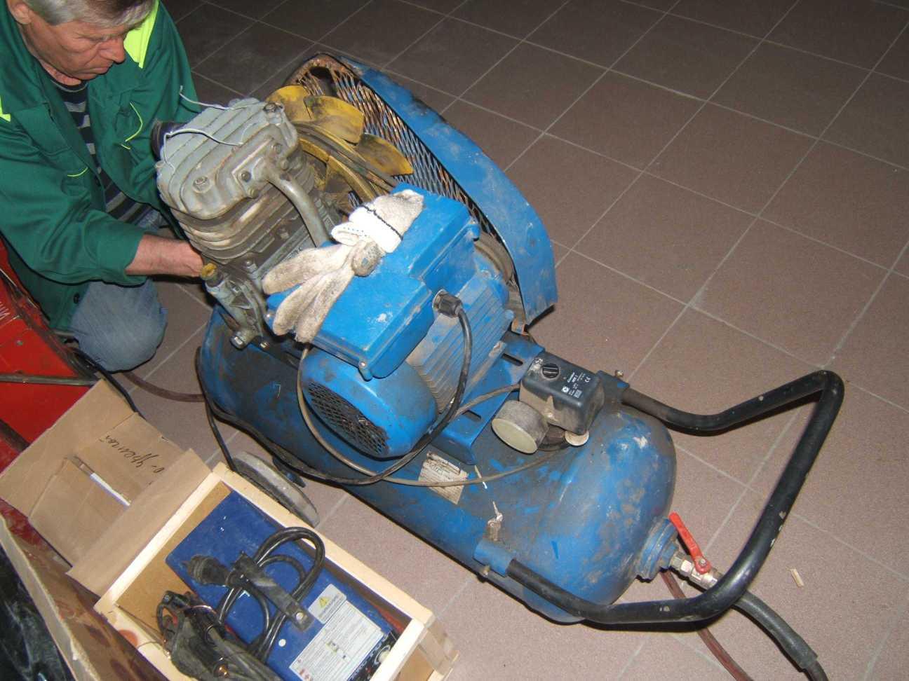 ремонт компрессора К-4 АСО