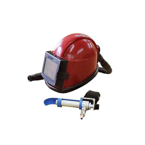Шлем оператора абразивной установки