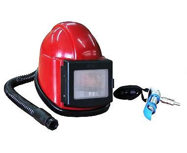 Шлем оператора абразивоструйной установки