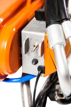 ASPro-2300 безвоздушный поршневой электрический распылитель