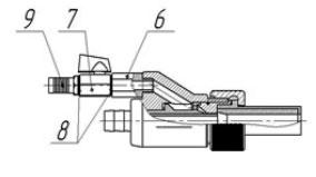 Абразивоструйный пистолет ORKAN